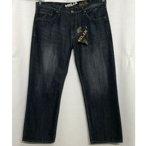 NWT $50 Helix 40 x 32 Loose Straight Fit Blue Jean
